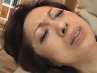 50代の人妻熟女動画 他人とのセックスで膣内射精される熟女