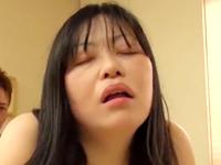 素人の五十路熟女がAVに出演して他人棒セックスで生中出し