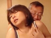 50代の夫婦が相方を交換して初々しい中出しセックス